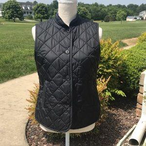 Gap quilted vest EUC